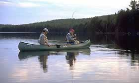 Fly fishing for native brook trout on Narrow Pond